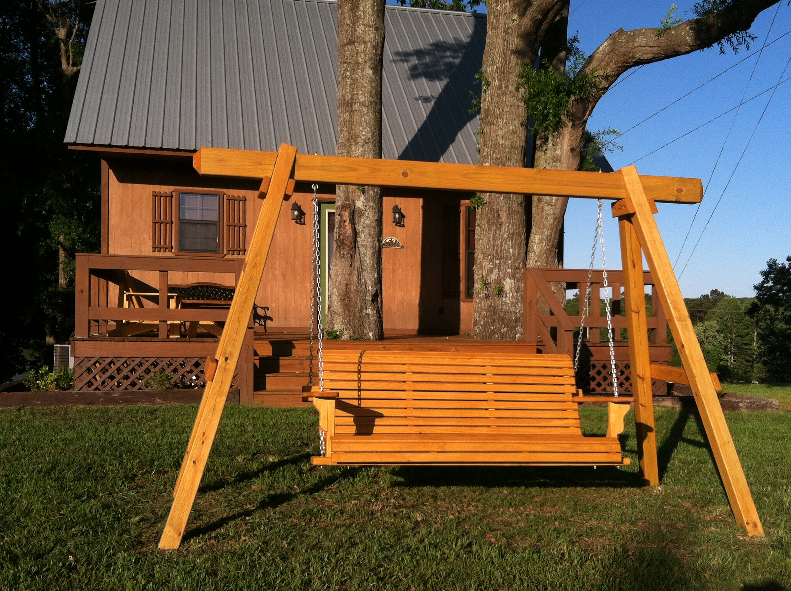 Customer testimonials about our porch swing plans for Outdoor swing plans
