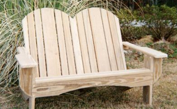 Adirondack Chair Plans - Loveseat Plans - Woodworking Patterns