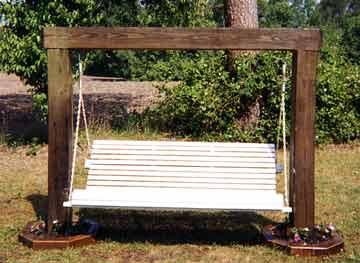 extreme beam plan - Wooden Swing Frame