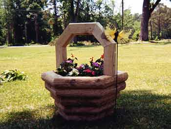 Woodworking Plans for Wood Flower Basket Planter